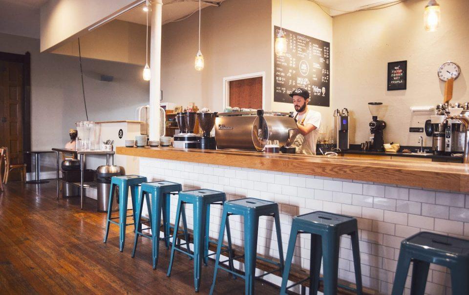 Elegant Coffee Shop